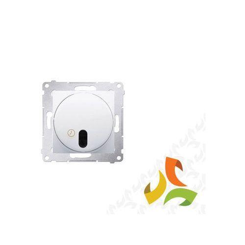 Wyłącznik czasowy z przekaźnikiem biały opóźnienie wyłączenia od 30 sek. do 99 min. DWC10P.01/11 SIMON 54 PREMIUM, DWC10P.01/11/KON