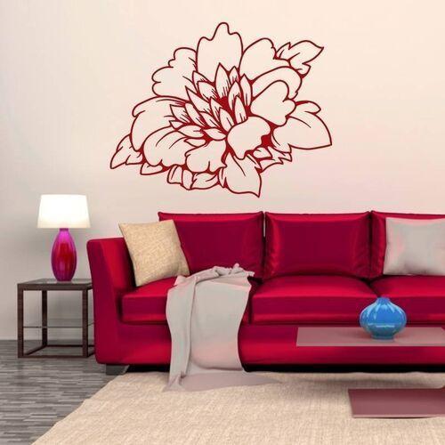 Wally - piękno dekoracji Naklejka kwiat 2083