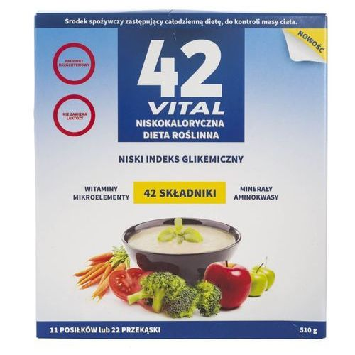 42 Vital Niskokaloryczna dieta Roślinna - OKAZJE
