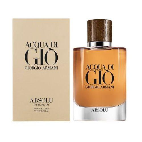 Giorgio Armani Acqua di Gio Absolu woda perfumowana 125 ml dla mężczyzn