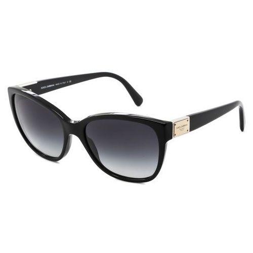 Okulary Słoneczne Dolce & Gabbana DG4195 Logo Plaque 501/8G
