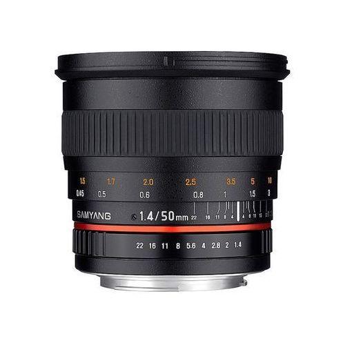 Samyang 50mm f/1,4 as umc (canon) - przyjmujemy używany sprzęt w rozliczeniu | raty 20 x 0%