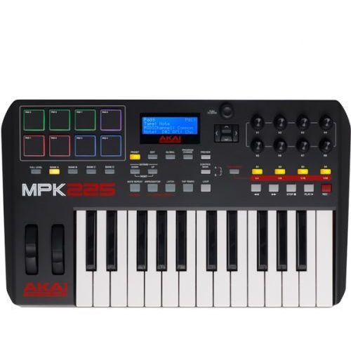 AKAI MPK 225 Klawiatura sterująca USB/MIDI