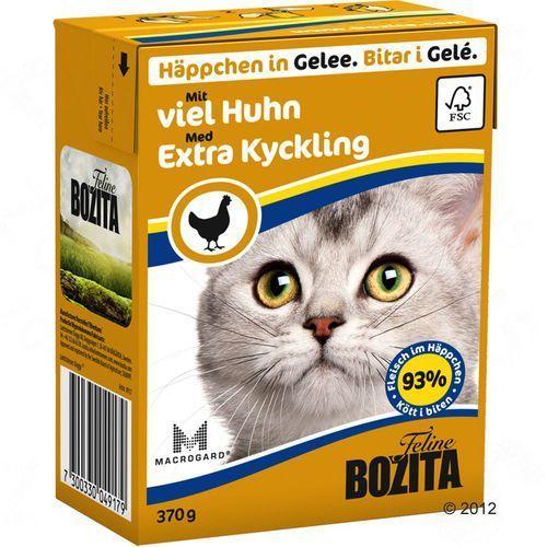 Bozita - karma dla kotów, kawałki mięsa w galarecie, wątróbka drobiowa 370 g (7300330049155)