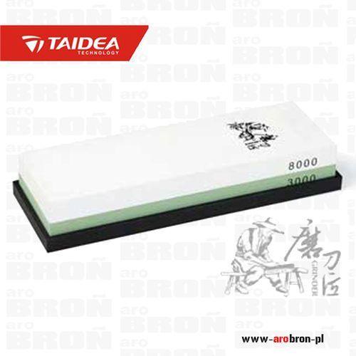 Kamień szlifierski  t0914w 8000/3000 3000/8000 - do noży stalowych, tasaków, dłut, nożyczek marki Taidea