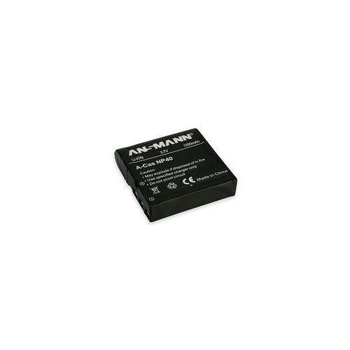 Akumulator Ansmann A-Cas NP-40 Darmowy odbiór w 21 miastach! (4013674303052)