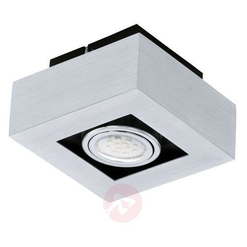 Eglo Plafon lampa sufitowa loke 1 91352 natynkowa oprawa metalowa ip20 kwadrat chrom
