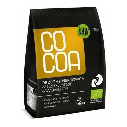 Orzechy Nerkowca w Surowej Czekoladzie 70g - COCOA EKO