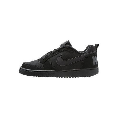Nike Sportswear COURT BOROUGH Tenisówki i Trampki black, kolor czarny