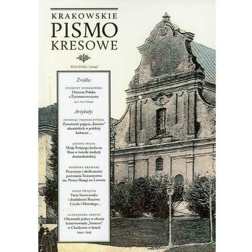 Krakowskie Pismo Kresowe Rocznik 4/2012 / przesyłka od 3,99, KSIĘGARNIA AKADEMICKA