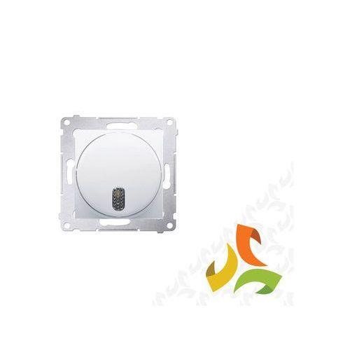 Dzwonek 230v, biały elektroniczny dds1.01/11 simon 54 premium marki Simon kontakt