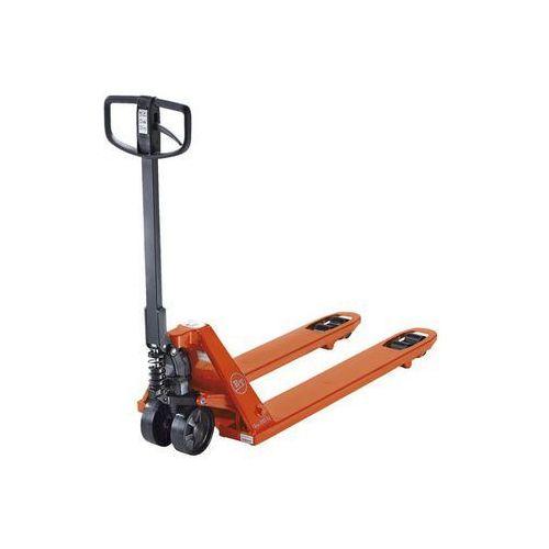 Paletowy wózek podnośny,bt lifter z jednostką hydrauliczną quicklift marki Toyota material handling