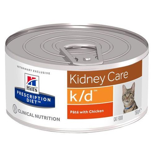 Hills Prescription Diet Feline k/d Kidney Care, kurczak - 12 x 156 g