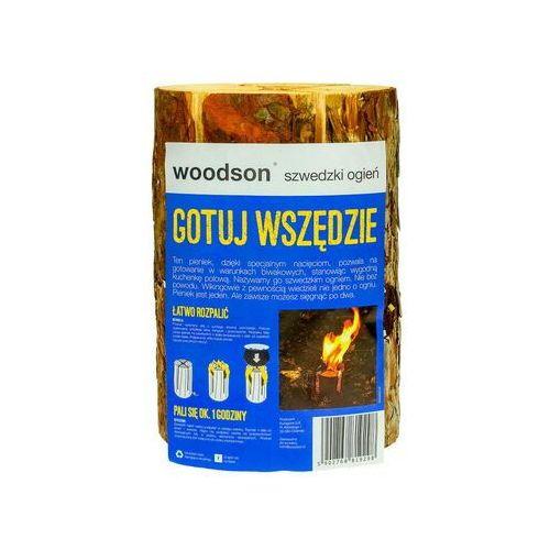 """Woodson Pieniek drewniany """"szwedzki ogień"""""""