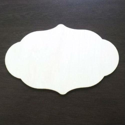 Eko deco Drewniana tabliczka do decoupage - 16x10 cm - 03