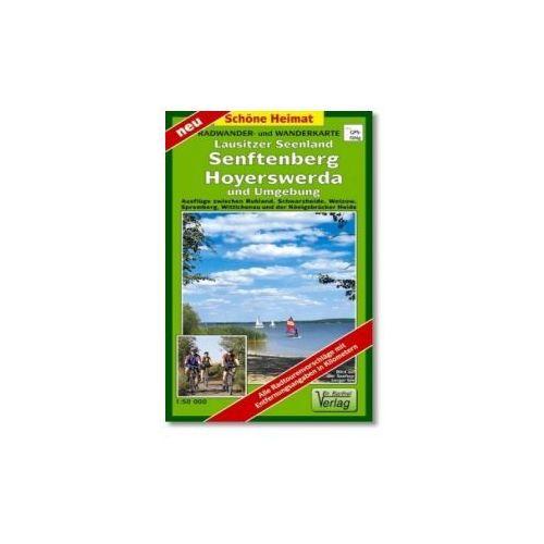 Doktor Barthel Karte Lausitzer Seenland, Senftenberg, Hoyerswerda und Umgebung