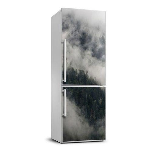 Naklejka Tapeta na lodówkę Chmura nad lasem