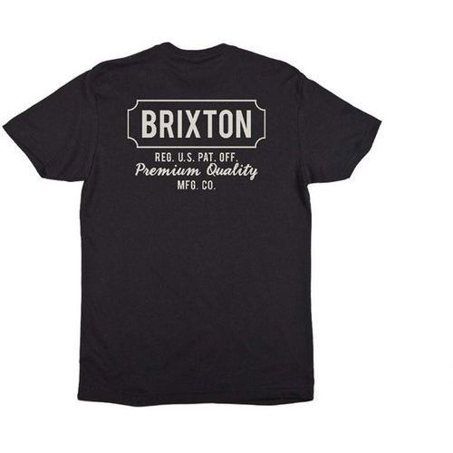 Brixton Koszulka - russel black 0100 (0100) rozmiar: m