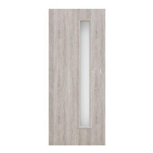Drzwi pokojowe przesuwne Exmoor 80 bezfelcowe jesion szary