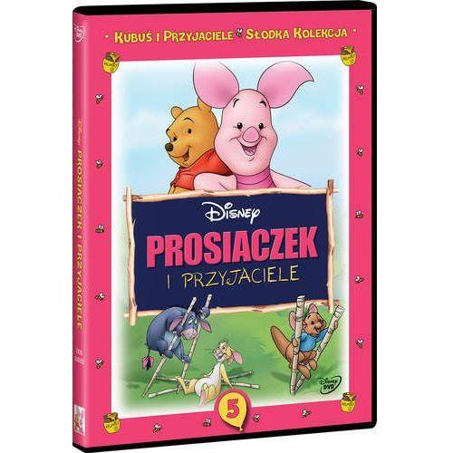 Kubuś i przyjaciele. Słodka kolekcja. Część 5. Prosiaczek i przyjaciele [DVD]. Najniższe ceny, najlepsze promocje w sklepach, opinie.