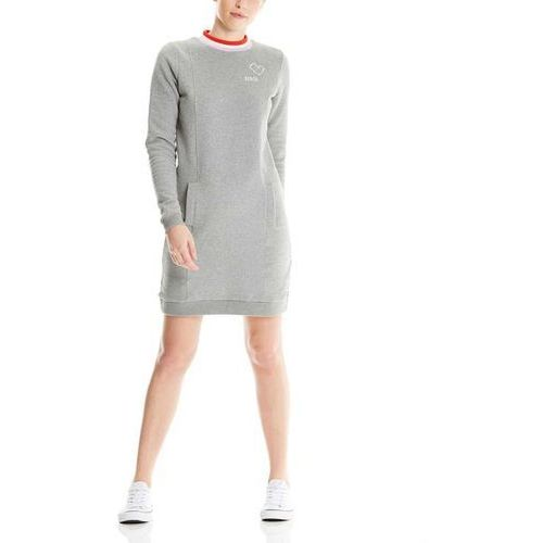 Bench Sukienka - sportive sweatdress winter grey marl (ma1054) rozmiar: s