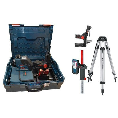 Bosch niebieski Laser liniowy bosch gll 2-80 p - zestaw niwelacyjny mini