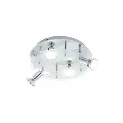 Eglo Plafon cabo 93085 lampa oprawa sufitowa 1 4x3w gu10-led chrom