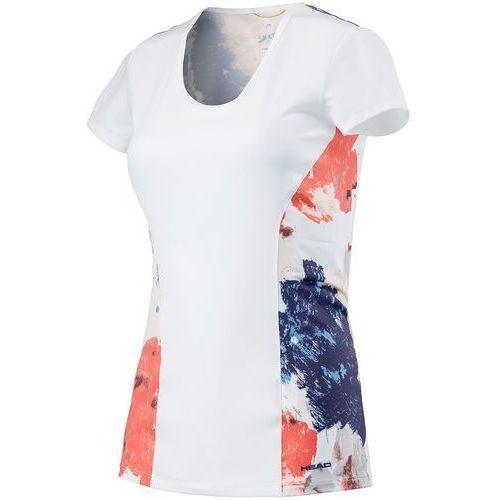 koszulka sportowa vision graphic shirt w white coral m marki Head
