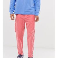 COLLUSION balloon leg cord trousers in pink - Pink