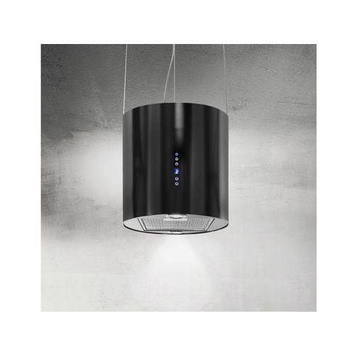 Okap wyspowy na lince Punto Czarny 40 cm, 635 m3/h