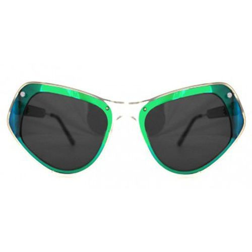 Okulary Słoneczne Spitfire Ultra Select Double Lens Clear/Green Mirror/Black