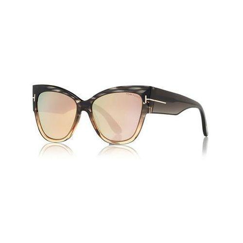 Okulary Słoneczne Tom Ford FT0371-F Asian Fit ANOUSHKA FLASH LENSES 20G