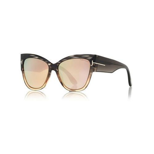 Tom ford Okulary słoneczne ft0371-f asian fit anoushka flash lenses 20g