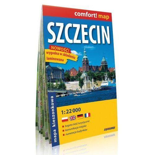 Szczecin. Mapa kieszonkowa (skala 1:22 000) - Expressmap, praca zbiorowa - OKAZJE