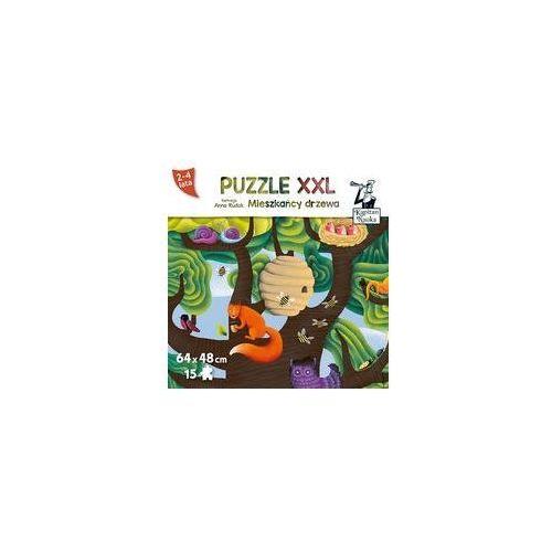 Kapitan Nauka Puzzle XXL. Mieszkańcy Drzewa 2-4 lata
