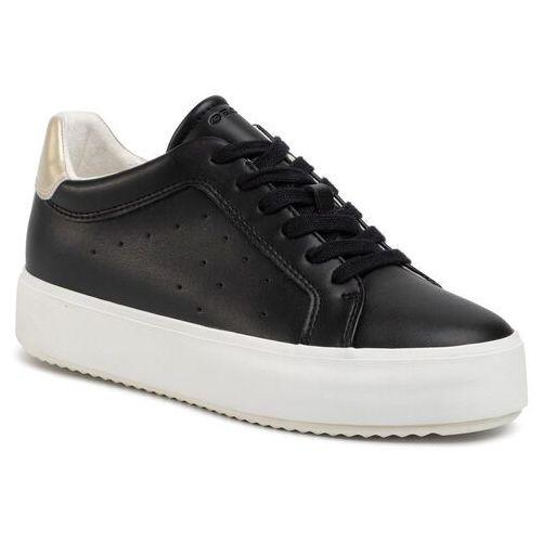 Sneakersy GEOX - D Blomiee H.B D02DZB 054AJ C9258 Black/Lt Gold, w 7 rozmiarach