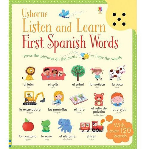 Listen and Learn First Spanish Words (9781409597735)