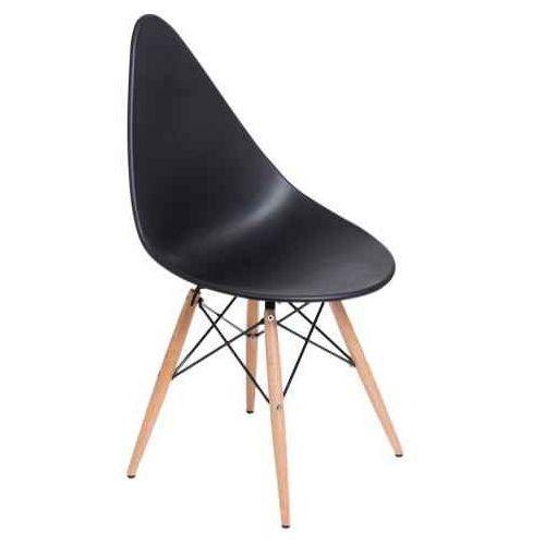 Krzesło Rush DSW czarne, kolor czarny