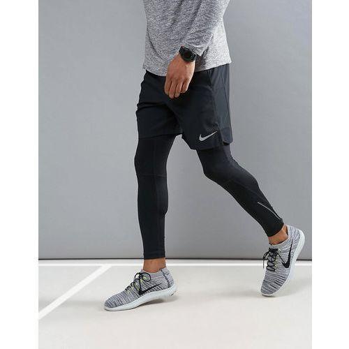 flex challenger 7 inch shorts in black 856838-011 - black marki Nike running