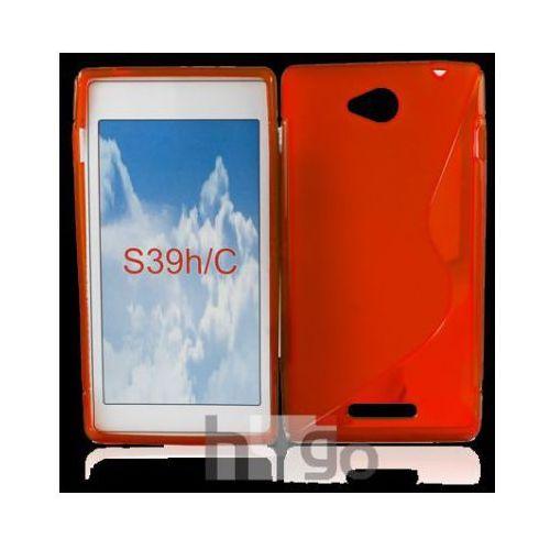 Futerał Back Case S-Line Sony Xperia C c2305 CZERWONY, backcase sony c