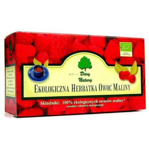 Herbatka owoc maliny bio 20x3g - Dary Natury, 5902741006134