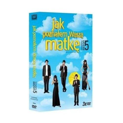 Jak Poznałem Waszą Matkę sezon 5 (DVD) - Pamela Fryman, Rob Greenberg (5903570153488)