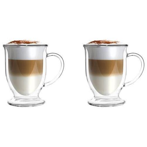 Filiżanka do latte z podwójnymi ściankami Vialli Design Amo 250 ml 2 szt