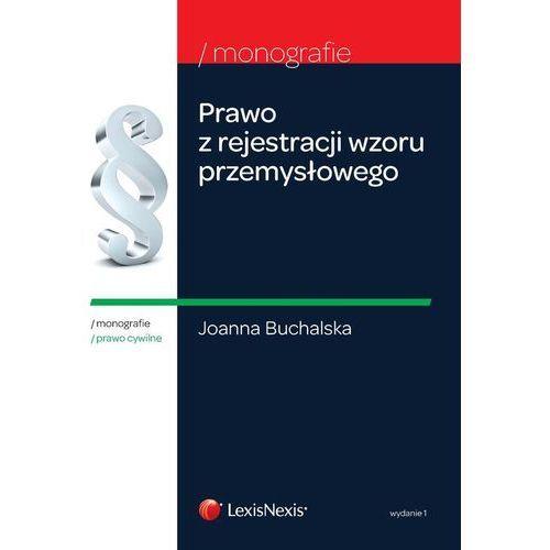 Prawo z rejestracji wzoru przemysłowego, Buchalska Joanna