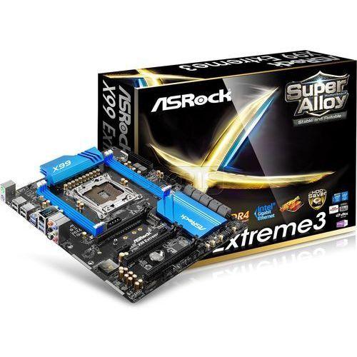 Płyta główna Asrock X99 Extreme3 X99 LGA 2011-3 (PCX/DZW/GLAN/SATA3/USB3/RAID/DDR4/SLI/CROSSFIRE) - X99 EXTREME3 (płyta główna)