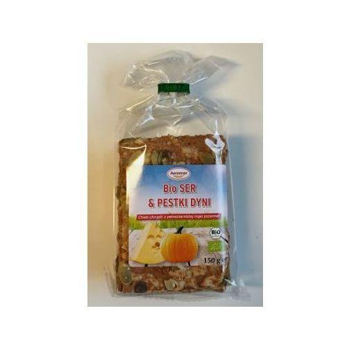 Chleb chrupki BIO ser i pestki dyni pełnoziarnisty 150g Benus - sprawdź w wybranym sklepie