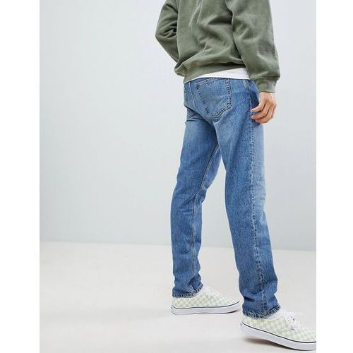 sunday tapered jeans 20 blue - blue, Weekday