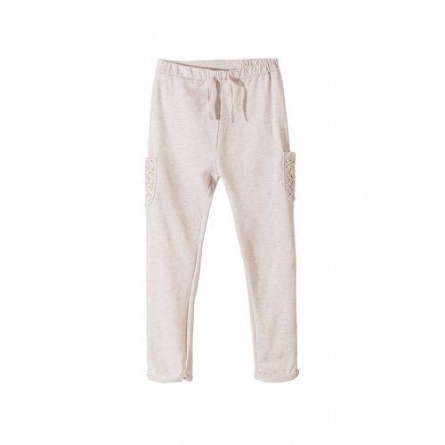 Spodnie dresowe dla dziewczynki 3m34af marki Minoti