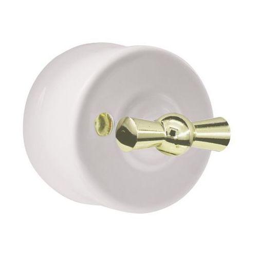 Dpm Włącznik pojedynczy cla1101 biały