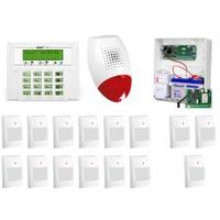 ALARM SATEL VERSA 15 LCD, 3xGREY+/12xGRAPHITE PET, SP-500, GPRS-T2